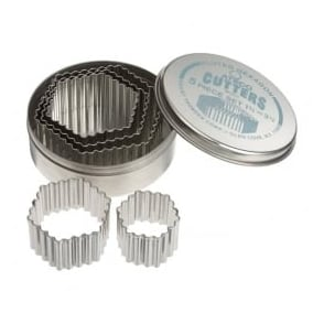 Cooperative Ateco Fluted Hexagon 5pce Set Other Baking Accessories