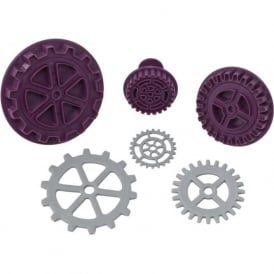 Steampunk Gear Plunger Cutter Set Of 3
