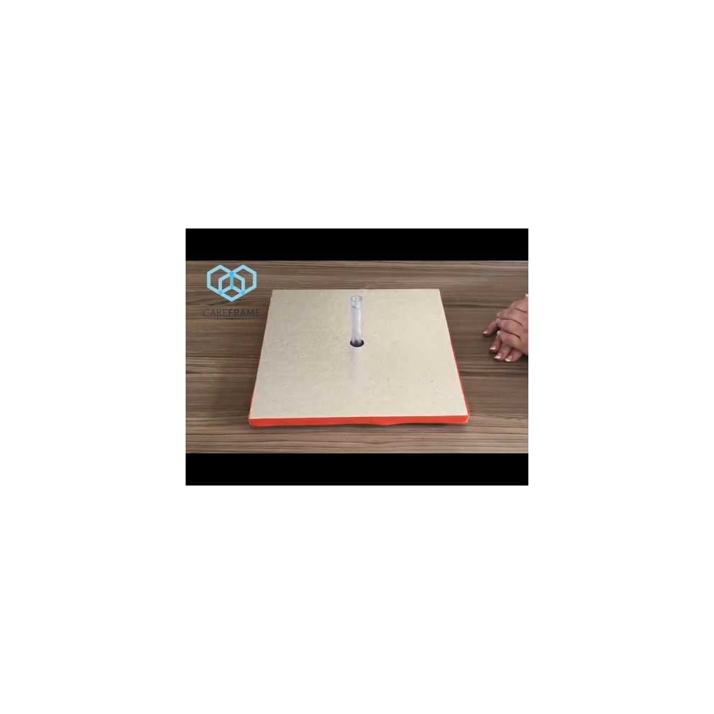 Cake Frame 12 Inch Square Base Board Pack Tools Equipment From