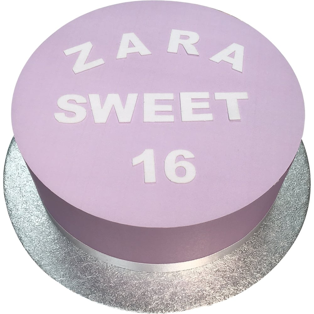 25mm Edible Wafer Letters & Numbers