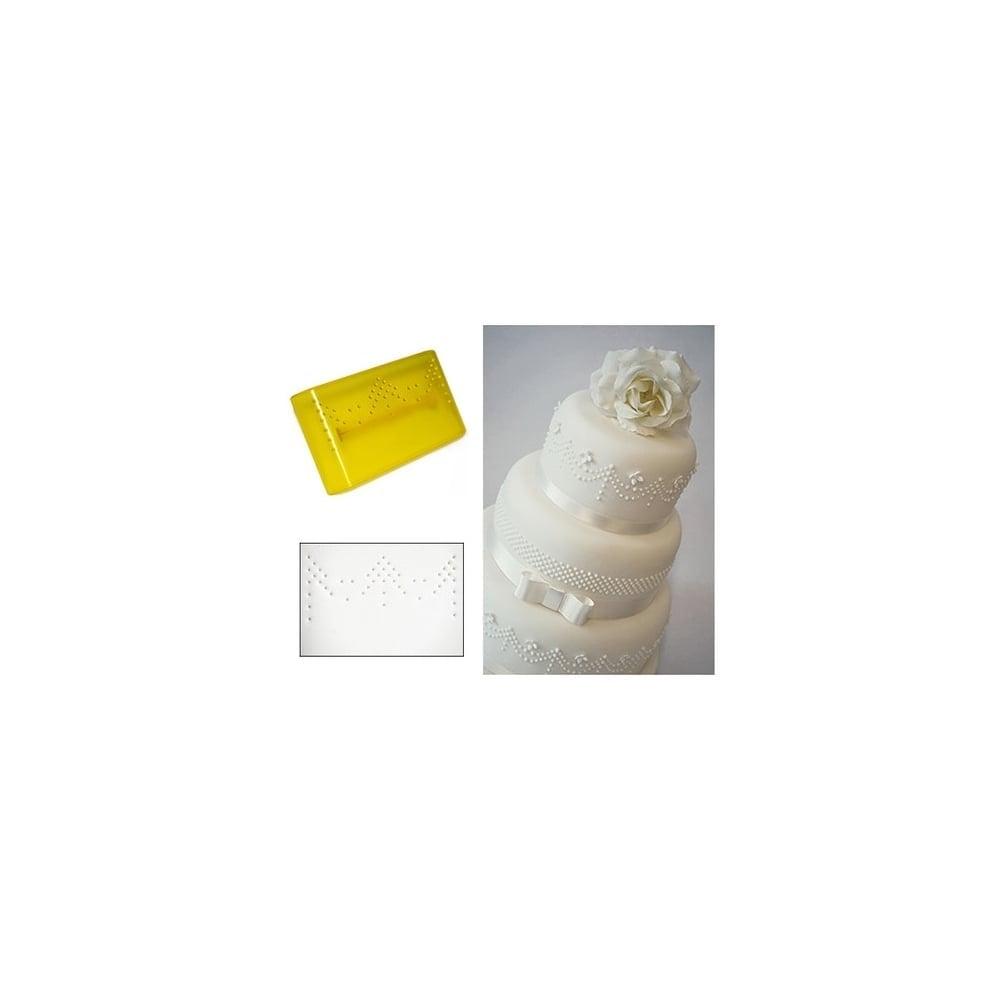 fmm press ice pattern 3 drape cake decorating tool tools