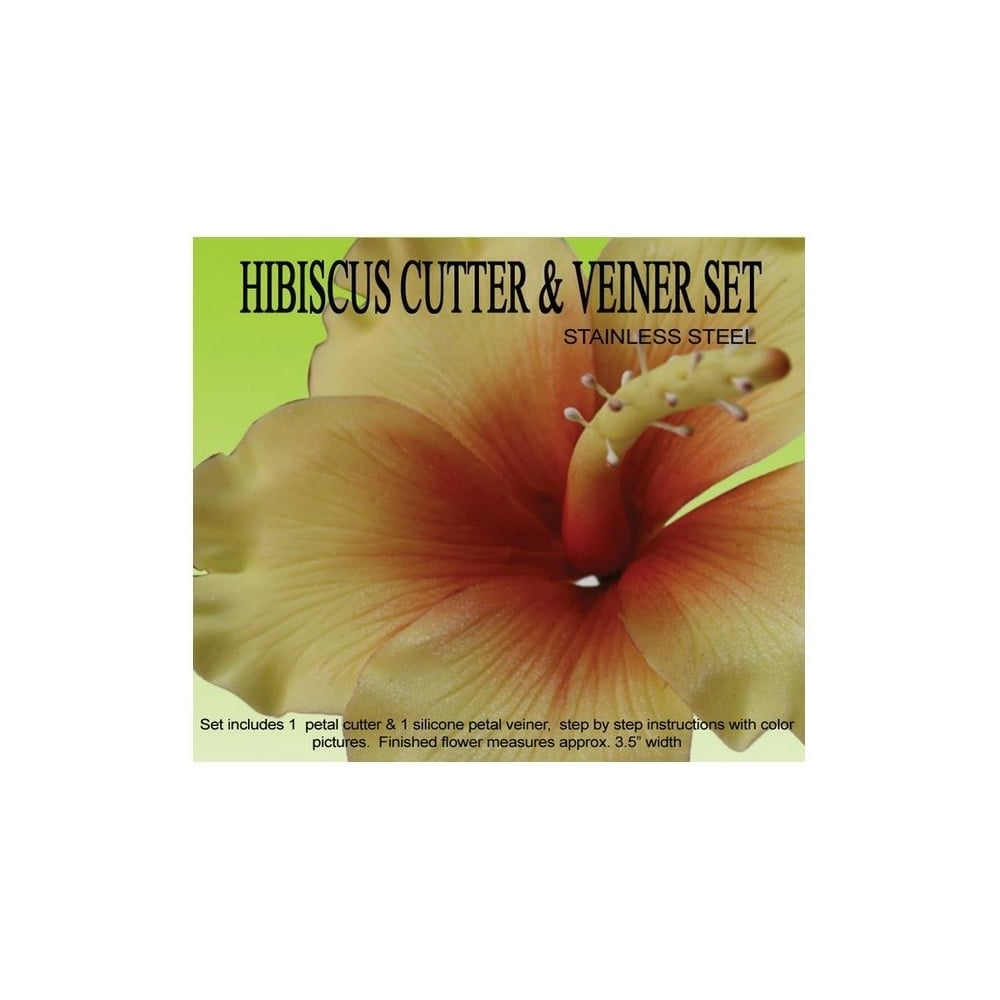 Petal Crafts Hibiscus Cutters Veiner Set Tools Equipment From
