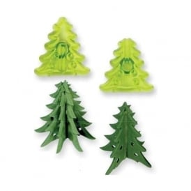 Small 3D Christmas Tree Cutters - Set of 2 - JEM Cutters