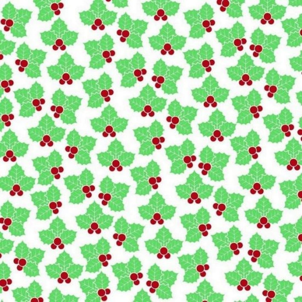 Squires Kitchen Holly Christmas Chocolate Transfer Sheets X2